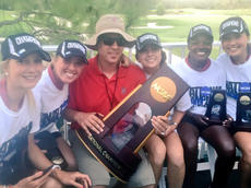 "<div class=""source"">DENNIS GEORGE/Contributing Photographer</div><div class=""image-desc"">Alan George, center, is a media relations specialist at Stanford University and son of the column's authord. George is posing with the recent national champion Stanford women's golf squad. Crit Reddick, a former Nelson County High School and Morehead State golfer, works at The Concession golf club in Bradenton, Fla., site of this year's NCAA championships.</div><div class=""buy-pic""><a href=""/photo_select/66641"">Buy this photo</a></div>"