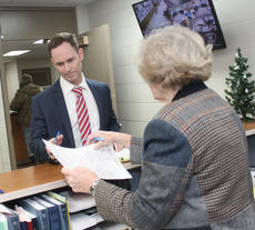 "<div class=""source"">RANDY PATRICK/The Kentucky Standard</div><div class=""image-desc"">Don Thrasher, Republican candidate for county judge-executive, receives his filing papers from County Clerk Elaine Filiatreau. Thrasher filed for the office Friday.</div><div class=""buy-pic""></div>"