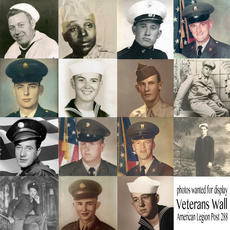 "<div class=""source"">Submitted Photos</div><div class=""image-desc"">Marylou""Myrt"" Muir Crume is creating a pictorial Veterans Wall at Bloomfield's American Legion Post 288, which will feature framed photos of any Bloomfield, Chaplin or Fairfield area veterans from any conflict. The goals is to have the photos and information collected by the end of April, though the project will be ongoing. The photos will be the theme for this year's An Afternoon with the Past event May 13.</div><div class=""buy-pic""></div>"