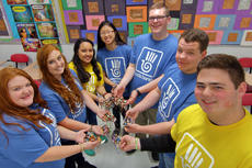 """<div class=""""source"""">KACIE GOODE/The Kentucky Standard</div><div class=""""image-desc"""">Nelson County High School Key Club members are selling Yuda Bands as a service project to support a Guatemalan student.</div><div class=""""buy-pic""""><a href=""""/photo_select/94455"""">Buy this photo</a></div>"""