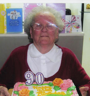Beulah Taylor, of Bloomfield, celebrated her 90th birthday Jan. 28 with her family.
