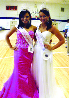 Peyton Cambron of Campbellsville, left, was named Miss Buttermilk 2013 and Taylor Milburn, of Chaplin, was named Ms. Buttermilk 2013.