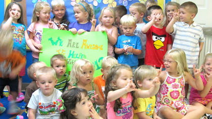 Loving Care Daycare of New Haven helped with Pack A Backpack 2012.