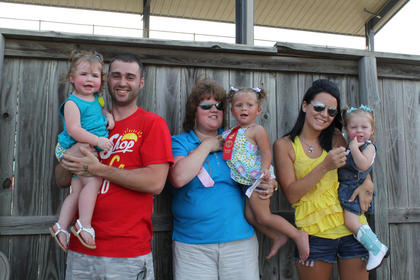 Nelson County Fair Baby Contest was held Thursday, July 19, at the Nelson County Fairgrounds. Winners of the 18-24 month Girls category were from left, first place-Trinity Rheanne Whitson, daughter of Joshua and Heather Whitson of Bardstown; second place-Nola Kay Yocum, daughter of Samantha Yocum of Bardstown; and third place-Madison Faith Vinegard, daughter of Pamela Faye Mattingly and Branden Vinegard of Bardstown.