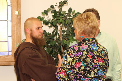 Brother Clarence, a Franciscan friar formerly known as Matthew Curtsinger, was brought up as a member of St. Michael Parish.