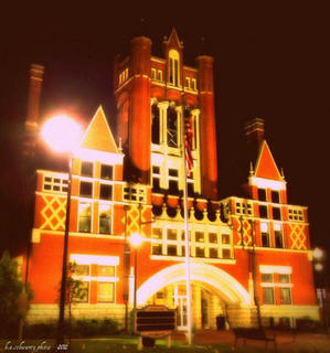 Old Courthouse at night, Summer 2011
