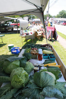 Whitlock Farm near Fairfield sells produce every year at Fairfield Days and Homecoming.