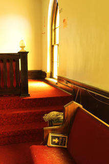 The sanctuary of the 199-year-old First Baptist Church of Bardstown is pictured in July 2011, before its renovation into the Reverend Roy Henry Educational Center begins Aug. 13.