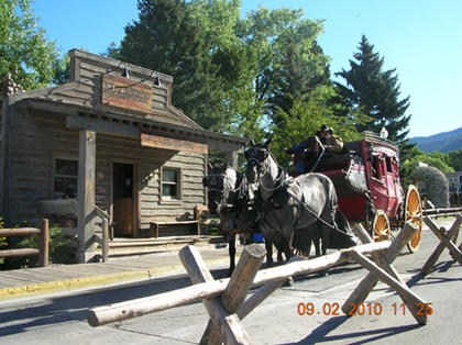 Wanda Janes, Bardstown, took this photo on a recent vacation out west, while driving out of Cody, WY on HWY 16 on her way to the Yellowstone National Park. She held the camera out of the car window and snapped the camera while in motion. She thought the picture turned out unbelievably well capturing the essence of the old west in Cody.