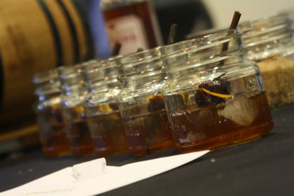 "The ""Oak Fashioned"" mixed drink, which will be the signature drink of the 2013 Kentucky Bourbon Festival."