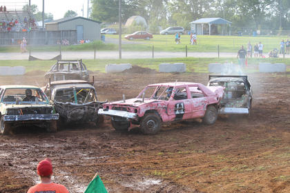 """It's like fighting for your life,"" said one fan and former driver when asked what's so exciting about the Demolition Derby."
