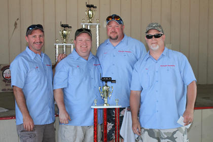 Midnight Smokers won the grand championship of the Bourbon City BBQ Festival, a Kansas City Barbecue Society-sanctioned event.