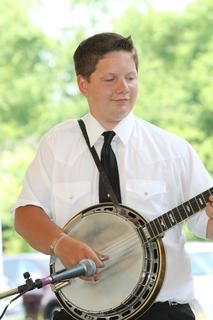 Evan Lanier is only 15 years old, but is one hot banjo picker who plays with The Daniel Patrick Band.