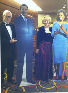 Lee and Ann Agee, of Bloomfield, attended the Inaugural Ball in Washington, D.C. 