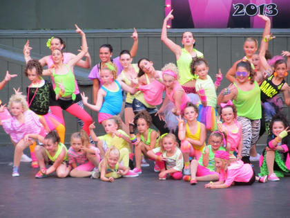 "Dance Pros of Bardstown recently held a recital at the J. Dan Talbott Amphitheatre titled ""You Better Work."""