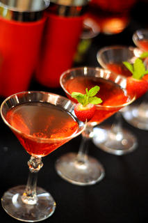 """Strawberry Fields,"" a drink made by Kevin Didio, diplomat from Maker's Mark Distillery, won the 2011 Mixed Drink Challenge. The drink will be the official cocktail of the 2012 Kentucky Derby Festival."