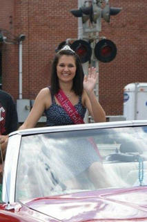 Festival Queen Sydney Varney 15 years old Daughter of David and Michelle Varney