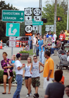 """Visitors turn out for the Rolling Fork Iron Horse Festival Saturday. This years theme was """"family, unity community."""""""