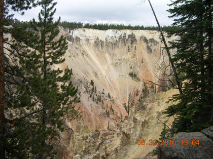 Wanda Janes, Bardstown, took this photo at Artist's Point on a recent vacation out west. It is the Grand Canyon of the Yellowstone, in Yellowstone National Park. The lighting must have been perfect to get a picture that looks so much like a painting, she said.