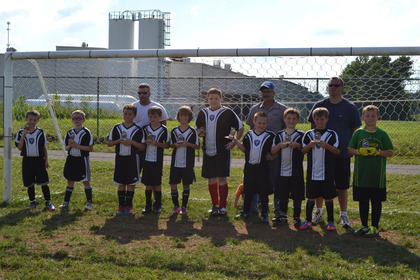 The winners of the Nelson County Soccer Club U10 Boys Spring Tournament was the Vipers, under head coach E.R. Jury and assistants Ray Jury and Michael Reinle, as well as Andrew Jury. The Vipers ended the season with a 10-0 record, and a 3-1 record in the tournment. This team also won the 2012 NCYSA U10 Boys Fall Tournament. The Vipers also placed third in the U10 Boys Gold category in the Kohl's Cup, held earlier this season at Dean Watts Park. Team members include (front) Gabe Jury, Isaac Reinle, Jacksen Young, Chas Parrish, Will Sugrue, Jonathan Hayes, Owen Hinton, Sammy Hamilton, Camden Porter and Cole Roby. Not pictured is Wyatt Konarski.