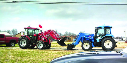 Kimberly O'Daniel Drury, of Bluegrass Seed & Fertilizer, Inc., shared this photo taken in front of J & G Equipment on Bloomfield Road in Bardstown.