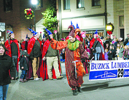 The Buzick's float paid tribute to Donald Buzick this year.