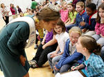 Miss Kentucky visits Foster Heights Elementary: Dec. 7, 2011