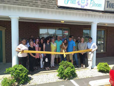 "<div class=""source"">Submitted</div><div class=""image-desc"">Full Bloom holds ribbon cutting  The Bardstown Nelson County Chamber of Commerce held a ribbon cutting for Full Bloom, located at 221 W. John Rowan Blvd., in Bardstown. Photographed is owner Emily Osbourne with her fiancé, Levi Woodridge, and family Damion and Judy Osbourne and Bridgette Burianek. Also pictured are Samantha Brady (Executive Director), Chamber Board and ambassadors.</div><div class=""buy-pic""></div>"