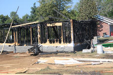 "<div class=""source"">RANDY PATRICK/The Kentucky Standard</div><div class=""image-desc"">This house at 109 Wheeling Ave. went up in flames quickly Sunday night after neighbors heard what might have been an accelerant igniting. The Bardstown Fire Deepartment is investigating the blaze as possible arson.</div><div class=""buy-pic""></div>"