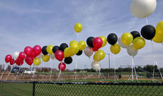 """<div class=""""source"""">KACIE GOODE/The Kentucky Standard</div><div class=""""image-desc"""">Balloons are tied to a fence at Dean Watts Park Saturday prior to a balloon release for Amer Tingle and Billie Rose Watts, two friends killed in a crash in August.</div><div class=""""buy-pic""""><a href=""""/photo_select/90910"""">Buy this photo</a></div>"""