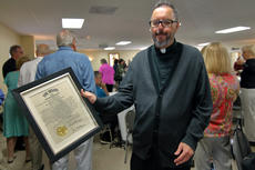 """<div class=""""source"""">KACIE GOODE/The Kentucky Standard</div><div class=""""image-desc"""">St. Michaels Catholic Parish received state recognition Sunday as it celebrated its 225th anniversary.</div><div class=""""buy-pic""""><a href=""""/photo_select/89753"""">Buy this photo</a></div>"""