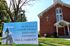 """<div class=""""source"""">KACIE GOODE/The Kentucky Standard</div><div class=""""image-desc"""">St. Michaels Church in Fairfield recently celebrated its 225th anniversary.</div><div class=""""buy-pic""""><a href=""""/photo_select/89754"""">Buy this photo</a></div>"""