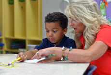 "<div class=""source"">KACIE GOODE/The Kentucky Standard</div><div class=""image-desc"">Jayvon Powell receives some help from his new kindergarten teacher Tuesday morning during Bardstown Primary School's first day of the new year.</div><div class=""buy-pic""><a href=""/photo_select/88057"">Buy this photo</a></div>"