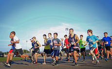 """<div class=""""source"""">KACIE GOODE/The Kentucky Standard</div><div class=""""image-desc"""">Runners take off from the starting line Monday morning for the annual Labor Day 5K/10K event at Nelson County High School.</div><div class=""""buy-pic""""><a href=""""/photo_select/79268"""">Buy this photo</a></div>"""