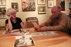 """<div class=""""source"""">ERIN L. MCCOY/The Kentucky Standard</div><div class=""""image-desc"""">Jeannette Cantrell and husband, Jim Cantrell, share photographs from when they first moved into Spalding Hall in 1971. </div><div class=""""buy-pic""""><a href=""""/photo_select/26491"""">Buy this photo</a></div>"""