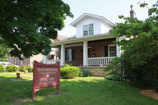"""<div class=""""source"""">ERIN L. MCCOY/The Kentucky Standard</div><div class=""""image-desc"""">In 1997, after 26 years in Spalding Hall, the Cantrells moved into a 1933 arts-and-crafts style house on West Stephen Foster Avenue, where they operate a bookstore, framing business, gallery, studio and darkroom.</div><div class=""""buy-pic""""><a href=""""/photo_select/26493"""">Buy this photo</a></div>"""