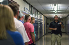 """<div class=""""source"""">KACIE GOODE/The Kentucky Standard</div><div class=""""image-desc"""">Detective James Martin speaks with staff at Bardstown High School during an active shooter scenario training. Both the middle and high school took part in sessions Tuesday.</div><div class=""""buy-pic""""><a href=""""/photo_select/97173"""">Buy this photo</a></div>"""