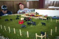 """<div class=""""source"""">KACIE GOODE/The Kentucky Standard</div><div class=""""image-desc"""">Farmscapes were on display in Sameuls Hall Saturday as part of Ag Day at the Nelson County fairgrounds.</div><div class=""""buy-pic""""><a href=""""/photo_select/87414"""">Buy this photo</a></div>"""