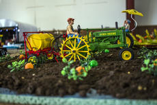 """<div class=""""source"""">KACIE GOODE/The Kentucky Standard</div><div class=""""image-desc"""">Farmscapes were on display in Sameuls Hall Saturday as part of Ag Day at the Nelson County fairgrounds.</div><div class=""""buy-pic""""><a href=""""/photo_select/87415"""">Buy this photo</a></div>"""