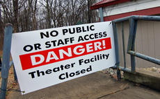 """<div class=""""source"""">KACIE GOODE/The Kentucky Standard</div><div class=""""image-desc"""">""""Danger"""" signs block off entrances to the J. Dan Talbott Amphitheatre, which was closed last week after the state deemed the facility a safety hazard.</div><div class=""""buy-pic""""></div>"""