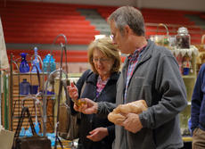 """<div class=""""source"""">KACIE GOODE/The Kentucky Standard</div><div class=""""image-desc"""">Patrons browse booths at Sunday&#039;s Antiques Show at Nelson County High School.</div><div class=""""buy-pic""""><a href=""""/photo_select/94373"""">Buy this photo</a></div>"""