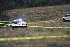 """<div class=""""source"""">KACIE GOODE/The Kentucky Standard</div><div class=""""image-desc"""">Nelson County Sheriff's Office vehicles had a large section of land taped off on Ed Brent Road after a hunting incident left a man dead Saturday morning. </div><div class=""""buy-pic""""><a href=""""/photo_select/81320"""">Buy this photo</a></div>"""