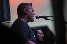 """<div class=""""source"""">KACIE GOODE/The Kentucky Standard </div><div class=""""image-desc"""">Andrew Scott Newton performs at Saturday's concert on Third Street. </div><div class=""""buy-pic""""><a href=""""/photo_select/77637"""">Buy this photo</a></div>"""
