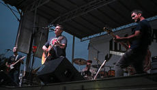"""<div class=""""source"""">KACIE GOODE/The Kentucky Standard </div><div class=""""image-desc"""">Andrew Scott Newton and band perform third in the lineup for Saturday's concert. </div><div class=""""buy-pic""""><a href=""""/photo_select/77638"""">Buy this photo</a></div>"""