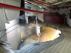 "<div class=""source"">Submitted photo</div><div class=""image-desc"">This scene shows where a beer well collapsed at Barton 1792 Distillery Tuesday, rupturing three others and spilling 120,000 gallons of mash.</div><div class=""buy-pic""><a href=""/photo_select/101738"">Buy this photo</a></div>"