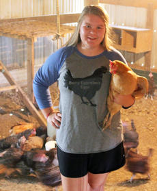 "<div class=""source"">Submitted</div><div class=""image-desc"">Katye Berry raises chickens and sells eggs through her business, Berry Eggcellent Eggs.</div><div class=""buy-pic""></div>"