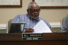 "<div class=""source"">RANDY PATRICK/The Kentucky Standard</div><div class=""image-desc"">Councilman Bill Sheckles studies the city's utilities budget at Tuesday's Council meeting.</div><div class=""buy-pic""></div>"