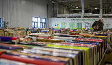 """<div class=""""source"""">KACIE GOODE/The Kentucky Standard</div><div class=""""image-desc"""">Thousands of books were collected for the BookFest this week at the Guthrie Opportunity Center. The event supported the Newspapers in Education program.</div><div class=""""buy-pic""""><a href=""""/photo_select/103181"""">Buy this photo</a></div>"""