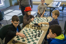 """<div class=""""source"""">KACIE GOODE/The Kentucky Standard</div><div class=""""image-desc"""">Kids compete in a chess tournament at the Nelson County Public Library Saturday. The event was sponsored by the Bardstown Optimist Club.</div><div class=""""buy-pic""""><a href=""""/photo_select/83108"""">Buy this photo</a></div>"""