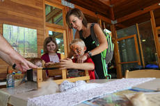 """<div class=""""source"""">KACIE GOODE/The Kentucky Standard</div><div class=""""image-desc"""">Families check out some displays inside the Visitor Center at Bernheim Saturday during the 2016 ColorFest celebration.</div><div class=""""buy-pic""""><a href=""""/photo_select/80426"""">Buy this photo</a></div>"""